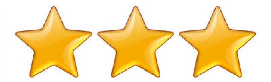 Note de l galit nous avons les 3 toiles le maximum for 3 stelle arreda